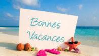 Le secrétariat fermera ses portes le vendredi 10/07 à 17h30 et les ouvrira pour encore mieux vous accueillir le lundi 17/08 à 14h30 Bonne vacances !!!!!!